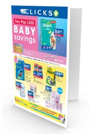 Find Specials || Clicks October Baby Savings