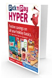 Find Specials || Pick n Pay Hyper Christmas Specials