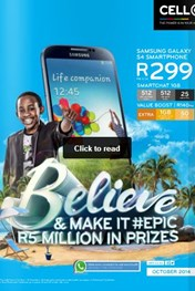 Find Specials || CellC October Deals