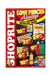 Find Specials || Shoprite Low Prices Always Specials - Western Cape