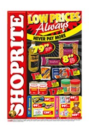 Find Specials || Shoprite Low Prices Always Specials - Free State