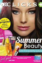 Find Specials || Clicks Summer Beauty Specials