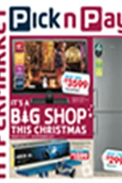 Find Specials || Pick n Pay Big Shop this Christmas GMD Specials