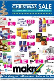 Find Specials || Makro Food Christmas Sale - PE