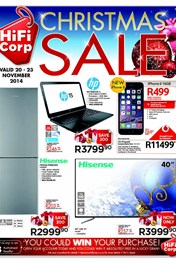 Find Specials || HiFi Corp Christmas Specials Catalogue