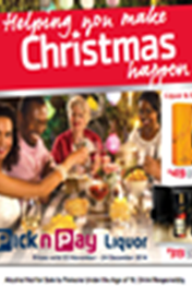 Find Specials || Pick n Pay Christmas Liquor