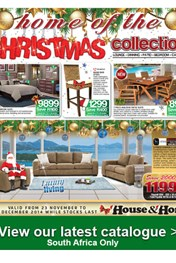 Find Specials || House and Home Christmas Specials
