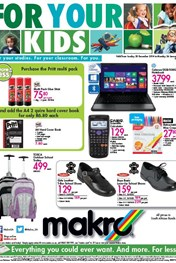 Find Specials || Makro Back to School Specials