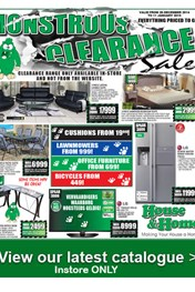 Find Specials || House and Home monster Clearance SALE