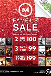 Find Specials || Musica Famous Sale Specials