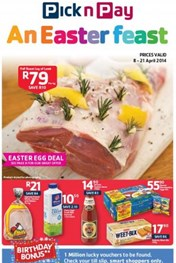 Find Specials || Pick n Pay An Easter Feast