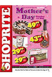 Find Specials || Shoprite Mother's Day Specials - Free State