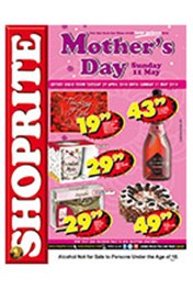 Find Specials || Shoprite Mother's Day Specials - North West