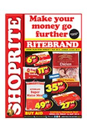 Find Specials || Shoprite Ritebrand Specials - Mpumalanga