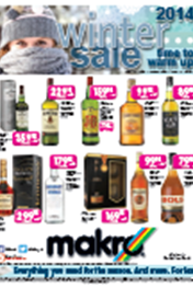 Find Specials || Makro Liquor Catalogue - Winter Sale