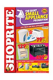 Find Specials || Shoprite Small Appliance Promotion - KwaZulu Natal