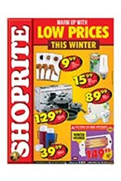 Find Specials || Shoprite Warm Up This Winter with Low Prices - Northern Cape