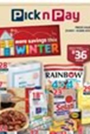 Find Specials || Pick n Pay More Savings This Winter