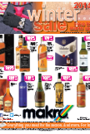 Find Specials || Makro Liquor Catalogue - Winter Sale Specials