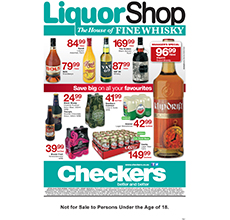 Checkers Liquorshop Specials May 26 2014 8 00am Jun 8 2014 Find Specials