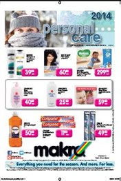 Find Specials || Makro Personal Care specials catalogue