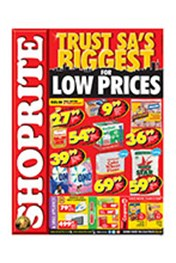 Find Specials || Shoprite Trust SA's Biggest For Low Prices - Free State