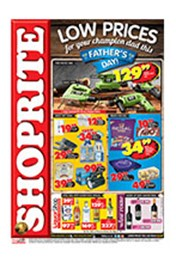 Find Specials || Shoprite Father's Day Specials - KwaZulu-Natal