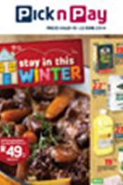 Find Specials || Pick n Pay Winter Specials