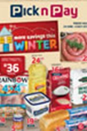 Find Specials || Pick n Pay More Winter Specials