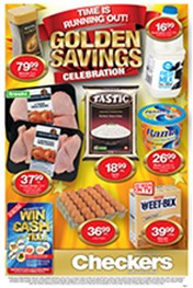 Find Specials || Checkers Golden Savings  - EC