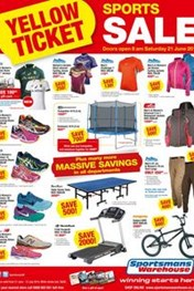 Find Specials || Sportsmans Warehouse Yellow ticket specials