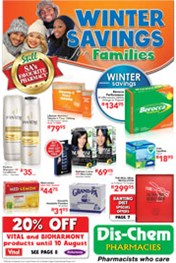 Find Specials || Dischem Winter Savings