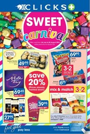 Find Specials || Clicks Sweet Carnival