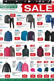 Find Specials || Outdoor Warehouse winter sale