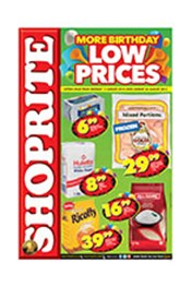 Find Specials || Shoprite More Birthday Low Prices - North West