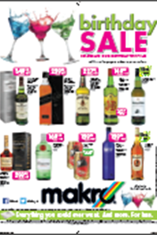 Find Specials || Makro Birthday Liquor Specials