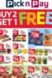 Find Specials || Pick n Pay Buy 2 get 1 Free Specials