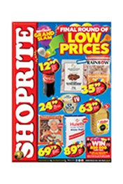 Find Specials || Shoprite Final Round of Low Prices - KwaZulu-Natal