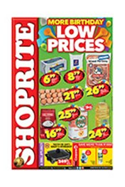 Find Specials || Shoprite More Birthday Low Prices - Eastern Cape