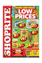 Find Specials || Shoprite More Birthday Low Prices - KwaZulu-Natal