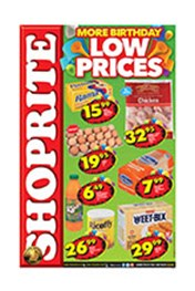 Find Specials || Shoprite More Birthday Low Prices - Western Cape