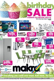 Find Specials || Makro General Merchandise Catalogue - Birthday