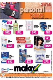 Find Specials || Makro Personal Care Leaflet