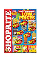 Find Specials || Shoprite Final Round of Low Prices - Free State