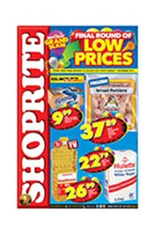 Find Specials || Shoprite Final Round of Low Prices - North West