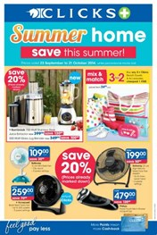 Find Specials || Clicks Summer Home Specials