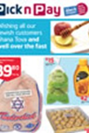 Find Specials || Pick n Pay Rosh Hoshana Specials