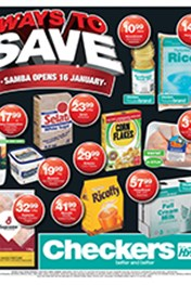 Find Specials || Checkers January Savings - Free State