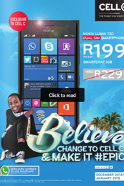Find Specials || Cell C Specials Booklet