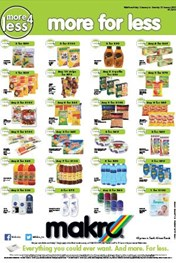 Find Specials || Makro More For Less specials catalogue